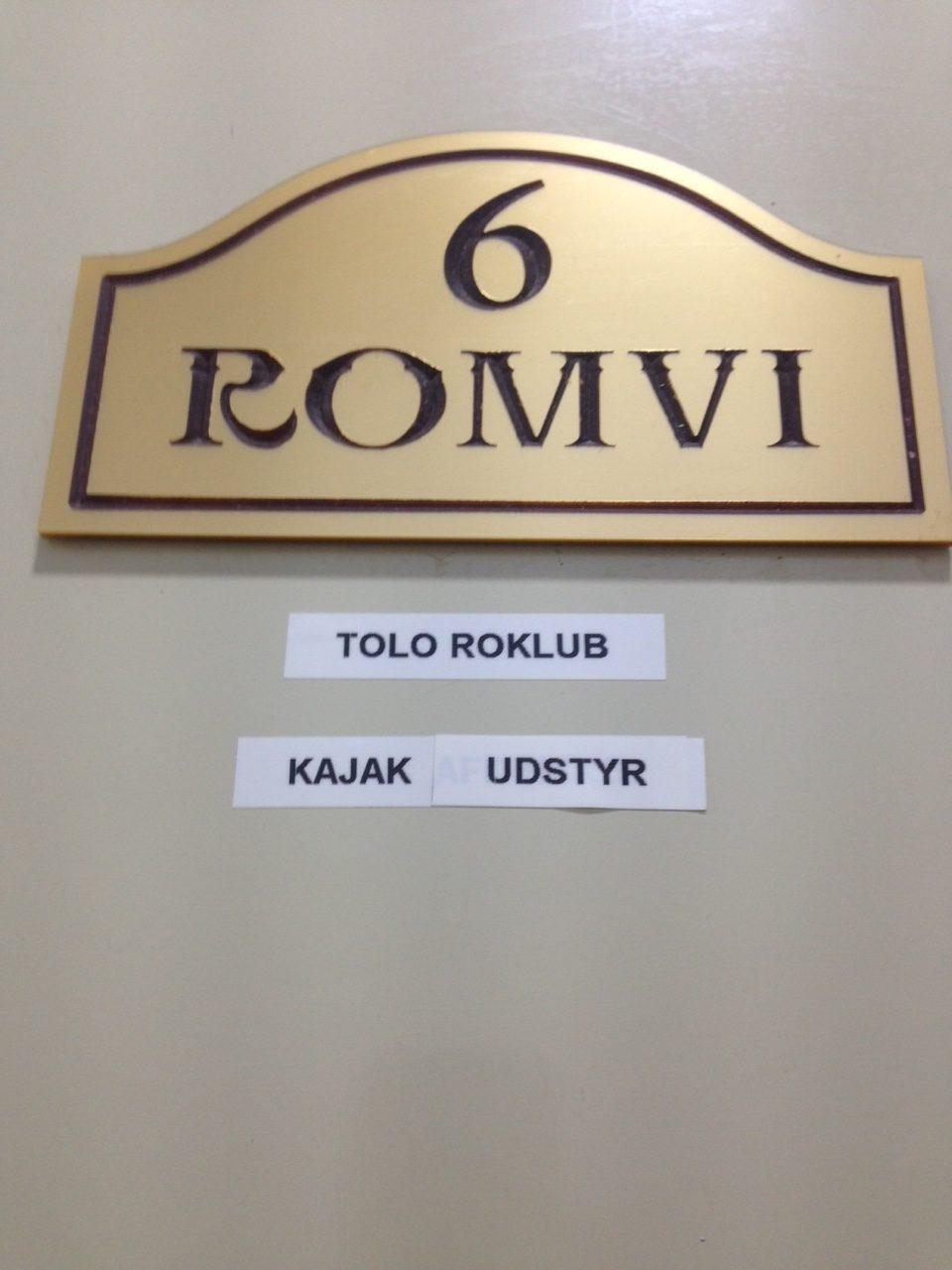Room 6 - Kajakudstyr