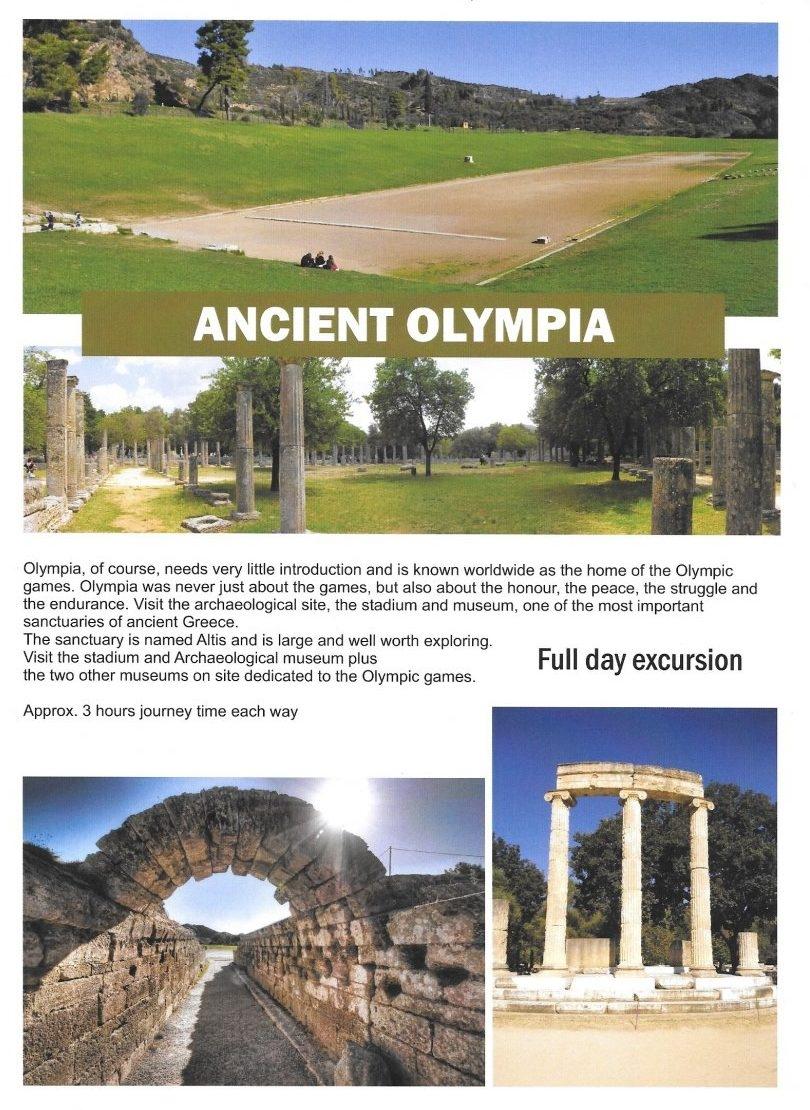 Olympia (Heldagsudflugt)