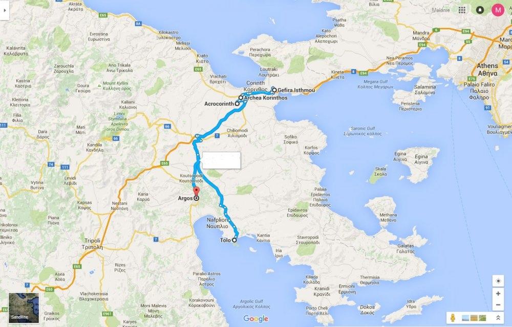 Mycenae / Argos (halv dag)
