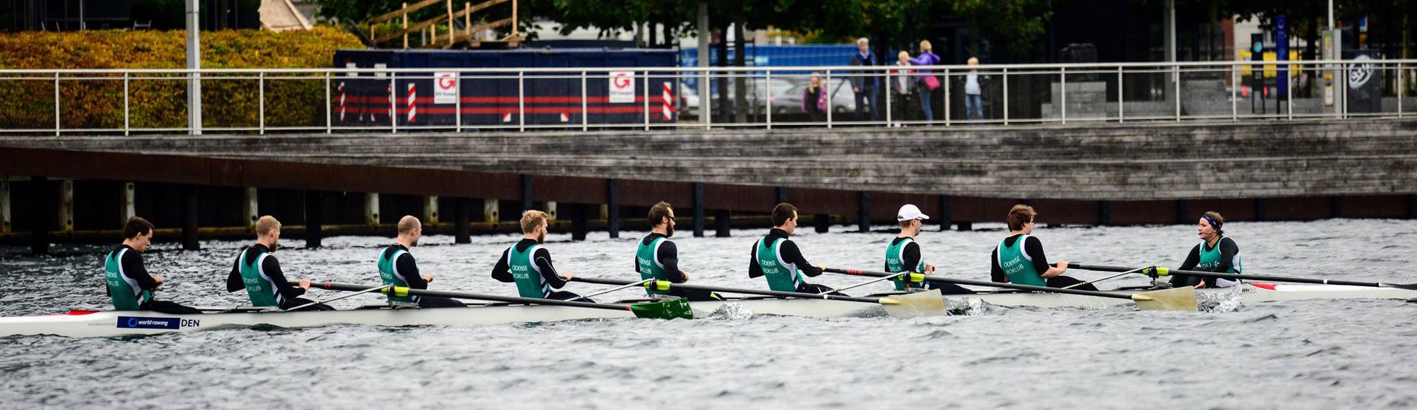 Universitetsroning Odense - Copenhagen Harbour Race 2017