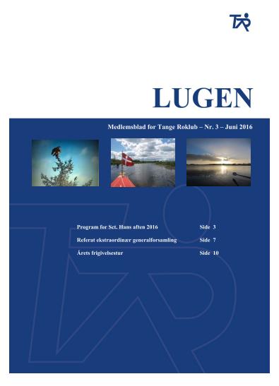 Forsidebillede af Lugen