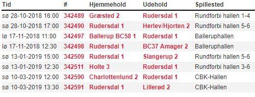 U17/U19B Pulje 1